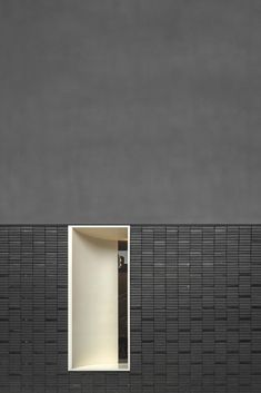 Image 4 of 22 from gallery of The Republique Store / ARCHETYPE. Photograph by Here Space Photography Black Architecture, Japan Architecture, Minimalist Architecture, Architecture Details, Interior Architecture, Brick Facade, Facade House, Feature Wall Design, Space Photography
