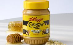 Kellogg collaborates with Duerr's on Crunchy Nut Peanut Butter - FoodBev Media Growing Peanuts, Peanut Butter Maker, Second Breakfast, Food Packaging Design, Roasted Peanuts, Sainsburys, Beverage, Big, Kitchen