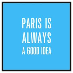 Pay tribute to the city of romance with PTM Images Paris is a Good Idea Decorative Framed Canvas Wall Art . A black polystyrene frame contrasts with. Canvas Frame, Canvas Fabric, Canvas Wall Art, Canvas Prints, Typography Design, Lettering, Old World Maps, Paris Images, Spring Painting