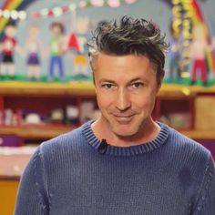 Aidan Gillen for the charity Barretstown.