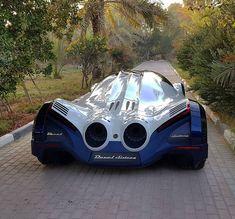 Devel Sixteen 5000HP V16 #supercar