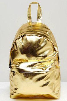 ASOS Metalic Mini Backpack, $32.35, asos.com