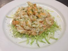Our Swan Depot Salad - inspired by the famous Swan Oyster Depot in San Francisco. Full of jumbo shrimp, baby Maine shrimp, Dungeness crab, iceberg lettuce, 1000 Island dressing, and fresh dill. #salad