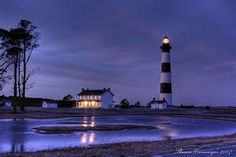 Another beautiful view of the Bodie Lighthouse on the OBX!
