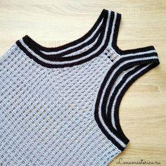 527 отметок «Нравится», 3 комментариев — ☆ lenamasterica.ru ☆ Елена ☆ (@lenamasterica) в Instagram: «Спинка❤️ #платьемайка #сарафан #вязаныйсарафан #вязаноеплатье #вязание #вязаниеназаказ…»