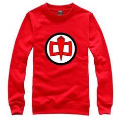 Sheldon same style red sweatshirt The Big Bang Theory XXXL