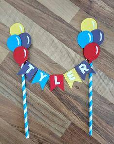 Wiggles cake bunting The wiggles Cake Bunting Balloon cake