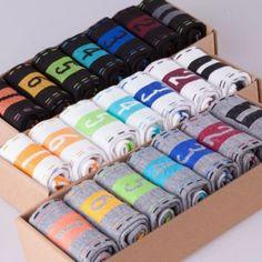 NEW Style Sock 7 Pairs Men's Top Fashion Casual Dress Socks Week Crew Socks  #Unbranded #Casual