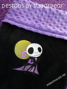 Jack SkeLLinGToN NiGHTMaRe Before ChRiSTmAS by DesignsbySugarbear, $37.99 ~~~ **READY to SHIP! ~~~*** Personalization AVAILBLE TOO! Matching PiLLOWs Available to complete YouR NiGHTMaRE LiTTLE JACK Nursery!!