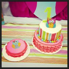 Owl first birthday