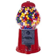 """StealStreet SS-CQG-GM0015 15"""" Red Home Decor Toy Accessory Display Classic Gumball Machine"""