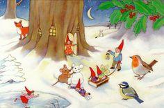 Kabouters winter - Geertje van der Zijpp