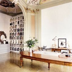 if you are the sun king, you can have your office in Versailles style