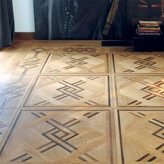 Wood Flooring, Floors, Floor Patterns, Marquetry, Mosaic, Stone, Inspiration, Home Decor, Houses