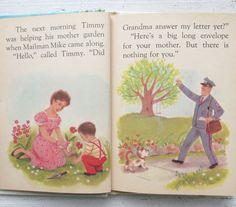 Vintage 1950's Children's Book Mailman Mike