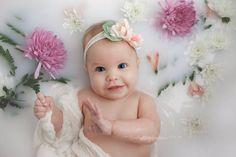 Child Photography | Milk Bath