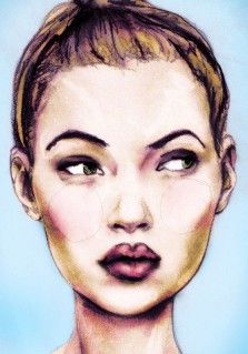 kate moss by danny roberts