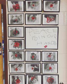 mlk art activities for kids preschool / mlk activities for kids preschool Remembrance Day Activities, Remembrance Day Poppy, Poppy Craft For Kids, Art For Kids, Peace Crafts, 3rd Grade Art, Grade 2, Rm 1, Anzac Day