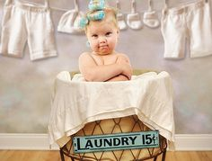 photography baby laundry basket - Google Search
