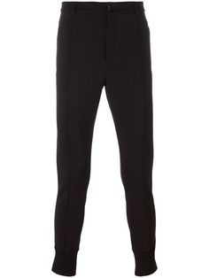 DOLCE & GABBANA gathered ankle tailored trousers. #dolcegabbana #cloth #trousers