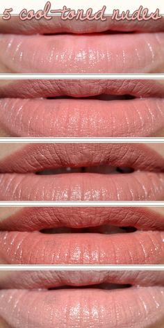 5 Cool-Toned Nude Lipsticks