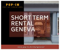 Do you want to launch a Pop-up Store in Geneva? Pop-In is a platform that makes it easier for you to find and book a pop-up space. Visit our website and choose a short-term rental in Geneva.