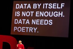 DATA NEEDS POETRY    Loved the title of @brendandawes talk at TEDxUtrecht Nov 8th 2012.    Pictures of the event can be found here:    http://www.flickr.com/photos/tedxutrecht/sets/72157632017530000/    #TEDxUtrecht #TED #030