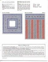 Plastic Canvas Pattern All American Tissue Box Page 2