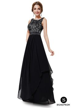 Only $66, Black Sleeveless Round Neck Long Party Dress #EP08217BK at #SheProm. SheProm is an online store with thousands of dresses, range from Formal,Black,Long Black Dresses,Long Dresses and so on. Not only selling formal dresses, more and more trendy dress styles will be updated daily to our store. With low price and high quality guaranteed, you will definitely like shopping from us.
