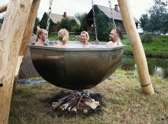 amazing hot tub