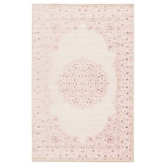 Bungalow Rose Fontanne Oriental Pink/White/Cream Area Rug Rug Size: Rectangle x Cream Area Rug, White Area Rug, Beige Area Rugs, White Rugs, Joss And Main, Trinidad, Area Rugs For Sale, Grommet Curtains, Curtain Panels