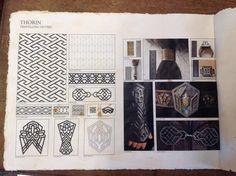 Surface pattern style sheet--Thorin