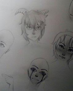 Dodles ( ͡° ͜ʖ ͡°)   #art #arts #draw #drawing #drawings #drawn #sketch #sketches #sketchbook #arttrade #oc