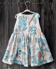 A personal favorite from my Etsy shop https://www.etsy.com/listing/281495162/girls-floral-summer-dress