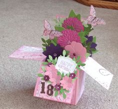 Card in a box for Carisa  - Brenda D. Penner