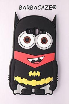 nice Carcasa Superheros Batman Minion Samsung Galaxy Grand Prime Silicona 3d alta protección