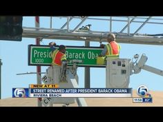 Crowds Cheer As 'Old Dixie Highway' Renamed In Honor Of President Barack Obama – Greenville Gazette