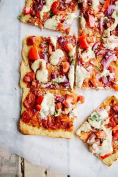 15 *Socca* Pizza Recipes to Try This Meatless Monday (or Whenever) Vegan Gluten Free, Gluten Free Recipes, Vegetarian Recipes, Cooking Recipes, Healthy Recipes, Chickpea Flour Recipes, Dairy Free, Skillet Recipes, Cooking Tools
