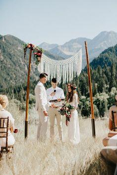 Blue wedding inspiration   Wedding dresses   100 Layer Cake