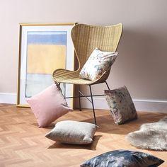 Desser - Rattan Furniture (@desserandco) • Instagram photos and videos Natural Furniture, Rattan Furniture, Floor Chair, Wicker, Boho Chic, Interior Design, Videos, Photos, Instagram