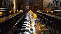 La hall del college Christ Church a Oxford assomiglia molto alla Sala grande di Hogwarts