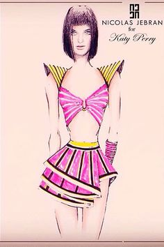 From Valentino to Roberto Cavalli, see all of the designers contributing to Katy Perry's couture tour wardrobe.