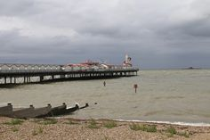 JibberJabberUK: Sunday Snap – A pier in two parts