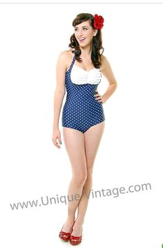 It's not summer, but somehow I found myself searching for a new swimsuit #vintage #swimsuit