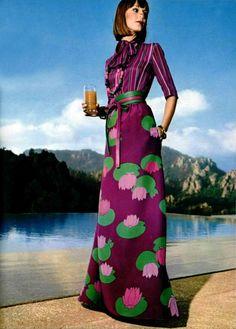 Fashion by Jean-Louis Scherrer Boutique, L'Officiel magazine, 1974.