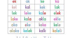 '' k '' Sesi Hece Tablosu.pdf
