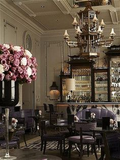 Artesian Bar Langham Hotel London (BB) One of Miss M's favourite eateries in London