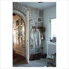 玄関 インテリア実例 アンティーク カントリー シャビーシック hallway