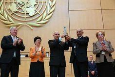 #Organización Mundial de la Salud entrega importante premio a Brigada Henry Reeve - tvavila: tvavila Organización Mundial de la Salud…