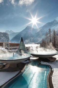 Aqua Dome - Tirol Therme Langerfeld - The Lavish Society